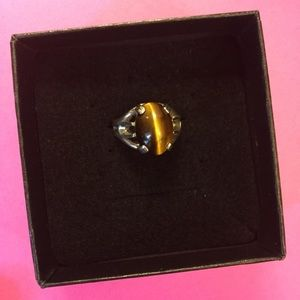 Jewelry - Tiger's Eye Silver Ring